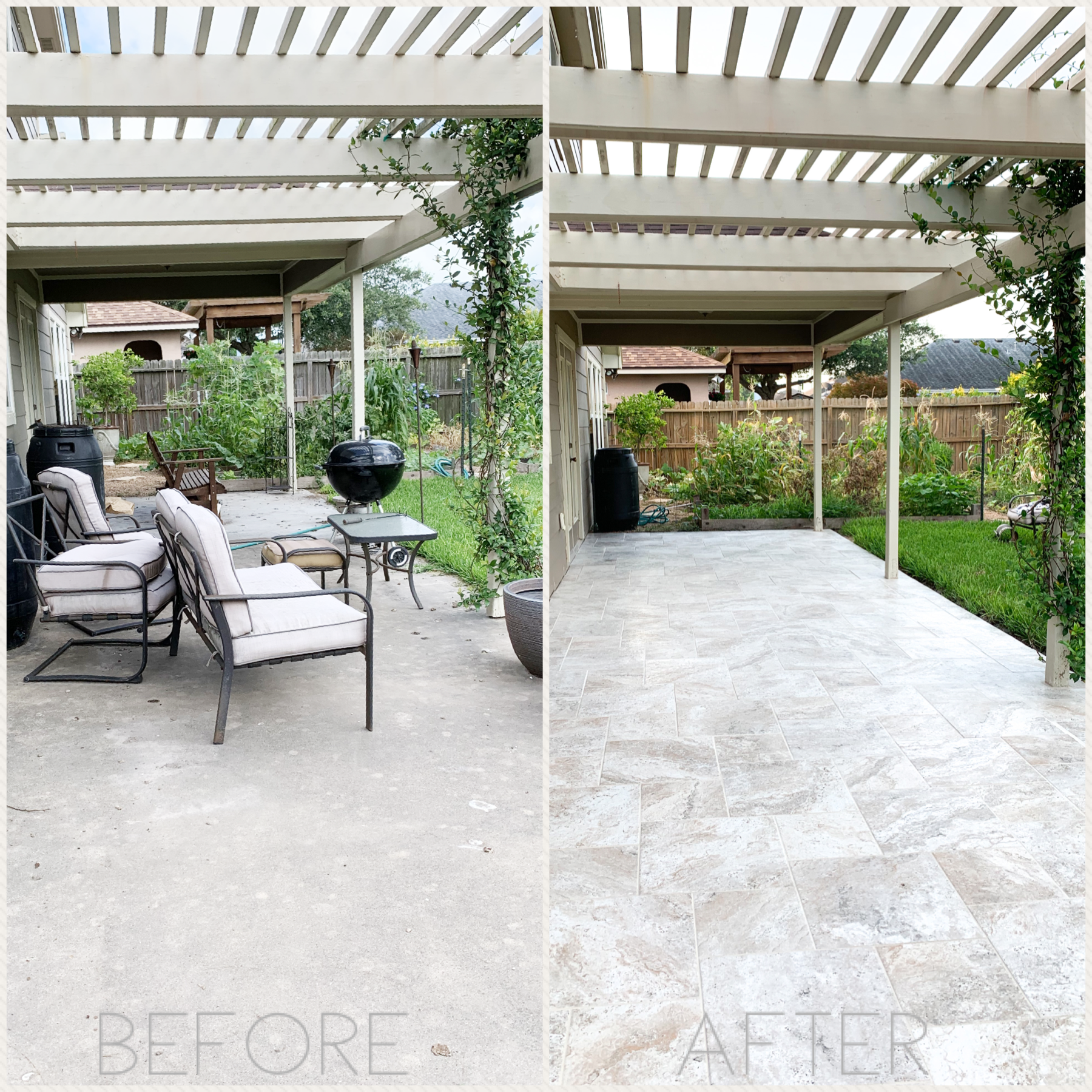 Read more about the article Patio Project Part 1: Tiling